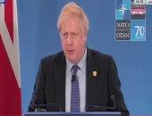 رئيس الوزراء البريطانى: يجب ألا تكرر إيران الهجمات المتهورة والخطيرة