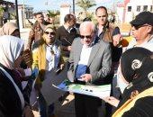 """محافظ بورسعيد يشهد فعاليات مبادرة """"بورسعيد فى عيون أبناءها"""""""