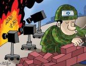 كاريكاتير صحيفة إماراتية.. بناء المستوطنات واستمرار جرائم قوات الاحتلال