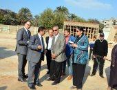 محافظ القليوبية يتفقد مشروعات مدينة شبرا الخيمة لدفع الأعمال