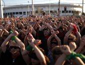 مظاهرات نسائية فى تشيلى احتجاجا على العنف ضد المرأة والحكومة