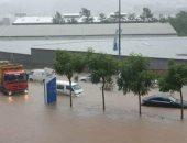 أمطار غزيرة وطقس غير مستقر فى لبنان.. صور وفيديو