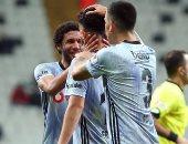 محمد النني أساسيا فى تشكيل بشكتاش ضد غازي شهير بالدوري التركي