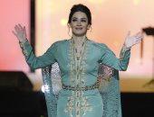 """شاهد.. ديانا حداد تتألق فى العيد الوطنى الإماراتى الـ48 بمدينة """"العين"""""""