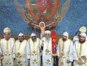 إيبارشية الفيوم تحتفل بسيامة خمسة كهنة جدد