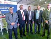 وفد جامعة أسوان يشارك فى افتتاح مركز أبحاث الطاقة بعين شمس