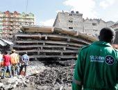 قتلى فى انهيار مبنى من 6 طوابق بكينيا ومخاوف من وجود أشخاص تحت الانقاض