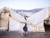 إخلاء مخيم للمهاجرين بالقرب من استاد فرنسا الوطنى