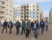 مساعد نائب وزير الإسكان يتفقد المشروعات الجاري تنفيذها بمدينة السادات