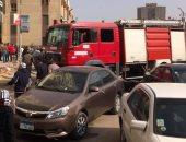 اندلاع حريق محدود فى مخزن أدوية بمدينة بنى سويف