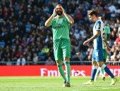بنزيما يسجل هدف ريال مدريد الثانى ضد إسبانيول فى الدقيقة 79.. فيديو