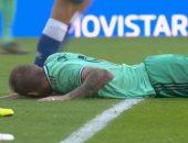 شاهد.. توني كروس يسدد أسوأ كرة فى تاريخ ريال مدريد ضد إسبانيول