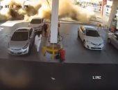 الدفاع المدنى السعودى يكشف أسباب انفجار محطة الوقود فى المدينة المنورة