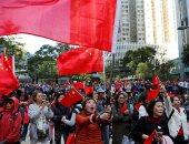 مظاهرات حاشدة فى هونج كونج لتأييد الحكومة الصينية