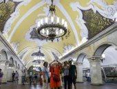 الكاميرات بتعمل إيه فى حمامات مترو روسيا؟.. مسئولو المحطات يكشفون السبب.. فيديو