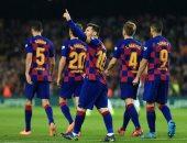 """برشلونة ضد مايوركا.. البارسا يحافظ على صدارة الدوري الاسباني بخماسية """"فيديو"""""""