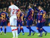 ترتيب الدوري الاسباني بعد نهاية مباريات السبت.. برشلونة متصدرا