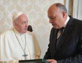 وزير الخارجية ينقل رسالة السيسى لبابا الفاتيكان: نعتز بجهودكم لنشر التسامح