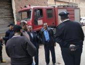 اندلاع حريق داخل مصنع دراجات نارية بقليوب.. والدفع بـ7 سيارات إطفاء (صور)