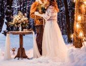عروسة الشتاء.. 5 أفكار لحفل زفاف مثالى لو فرحك أول السنة