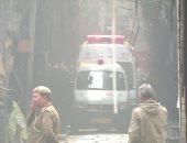 مصرع 8 مرضى إثر اندلاع حريق بمستشفى مخصصة لعلاج مصابى كورونا غربى الهند