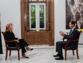 الرئاسة السورية تبث غدا الاثنين حوار الأسد مع قناة Rai News 24 الإيطالية