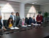 وزيرة البيئة توقع المرحلة الثالثة لمشروع إدارة المخلفات الصلبة بالمنيا ..صور