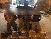 القبض على 3 متهمين بحوزتهم سلاح نارى واستروكس وبانجو فى الإسماعيلية