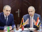 صور.. وفد صناعى من بيلاروسيا يزور اقتصادية قناة السويس لبحث فرص الاستثمار
