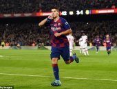 برشلونة ضد ألافيس.. سواريز مهدد بالغياب عن البارسا فى الديربى