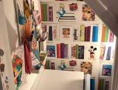 بريطانية تحول مساحة فارغة بمنزلها لغرفة مستوحاة من ديزنى لطفلتها.. صور