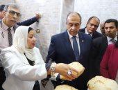صور.. وزير الزراعة يفتتح توسعات معهد الهندسة الوراثية وتكنولوجيا الأغذية