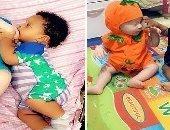 سيدة نيجيرية تلد طفلين مختلفين أحدهما أبيض والآخر أسمر.. تعرف على السبب