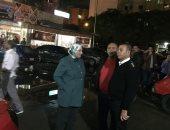 صور .. حملة مسائية مكبرة لإزالة الإشغالات وضبط النباشين شرق الإسكندرية