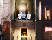 """""""البحوث الفلكية """" : الشمس تتعامد غدا على معبد حتشبسوت بالأقصر"""