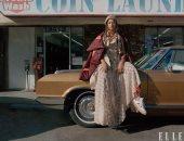 """ملكة الـ R&B """"بيونسيه"""" تتصدر غلاف مجلة Elle لشهر يناير 2020"""