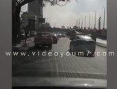 انسياب حركة المرور على طريق كورنيش الكيت كات فى الاتجاهين