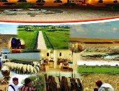 """صور.. تدشين أكبر مشروع لـ""""المواءمة فى البيئات الصحراوية"""" بمطروح بتكلفة 61.8 مليون دولار.. ينفذ على مدار 7 سنوات بتمويل من الصندوق الدولى للتنمية الزراعية.. ويهدف للتنمية الشاملة وحصاد الأمطار وتنمية الوديان"""