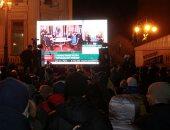 احتجاجات فى أوكرانيا بسبب لقاء زيلينسكى وبوتين بقمة نورماندى بفرنسا