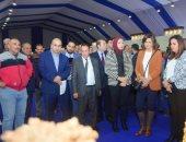 وزيرة الهجرة ومحافظ دمياط تجريان جولة بمدينة الأثاث الجديدة برفقة مستثمرين