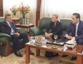 الفريق أسامة ربيع يلتقى سفيرة النرويج لبحث سبل تعزيز التعاون المشترك