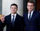 ماكرون يرحب بشجاعة رئيس أوكرانيا السياسية خلال قمة نورماندى