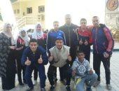منتخب مدرسة التربية الفكرية بشبين الكوم يحصد 15 ميدالية ببطولة كأس مصر لألعاب القوى