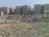 سكان المحمودية 920 النهضة حى السلام يشكون انتشار القمامة ومخلفات البناء