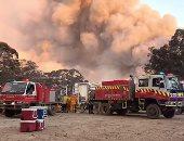 خدمة الإطفاء فى أستراليا تصل إلى البلدات الأكثر تضررا من الحرائق