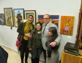 """معرض """"دروب""""  لطلاب الدراسات الحرة بفنون جميلة الزمالك.. صور"""