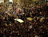 مظاهرة فى التشيك للمطالبة باستقالة رئيس الوزراء
