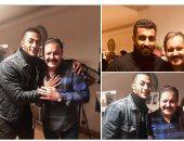 """شاهد .. أول صور من جلسات عمل مسلسل محمد رمضان """"البرنس"""" مع محمد سامى"""