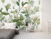 """نصائح لشراء ورق حائط مناسب منها """"اختيار زهور لإضافة طابع رومانسى"""""""