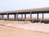 """شاهد.. ما توصلت إليه أعمال الإنشاءات بميناء صيد """"أبو رماد"""" الجديد"""